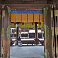 Coeur du temple Meiji-jingū
