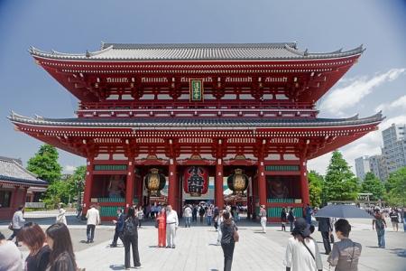 Deuxième porte du temple Senso-ji