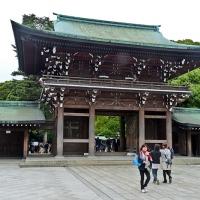 Entrée du sanctuaire Meiji-jingū