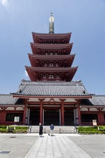 Pagode du temple Senso-ji