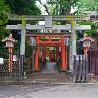 Entrée d'un temple au parc de Ueno