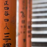 Torii d'un temple dans Ueno koen