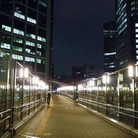Passerelles entre les gratte-ciels à Shimbashi