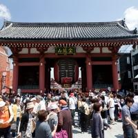 Première porte du temple Senso-ji