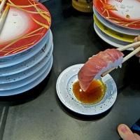 Sushi de poisson à la baguette