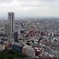 Vue de Tokyo depuis l'observatoire de la mairie