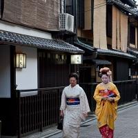 Des geishas à Gion, Kyoto