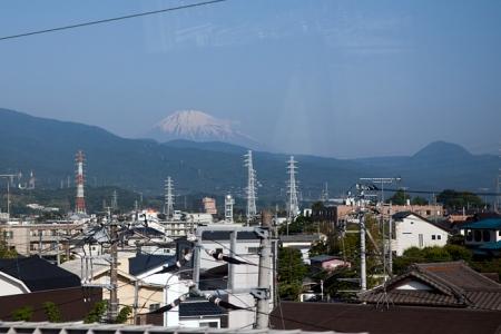 Le mont Fuji vu du shinkansen
