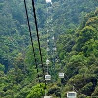 Téléphérique du mont Misen sur l'île de Miyajima