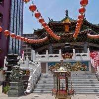 Temple chinois à Chinatown Yokohama
