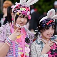 Cosplayers à Harajuku (Tokyo)