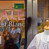 """Les soldes chez """"C'est Blanc""""... attention à la couleur !"""