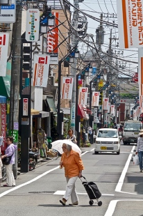 Jungle de câbles électriques à Tokyo